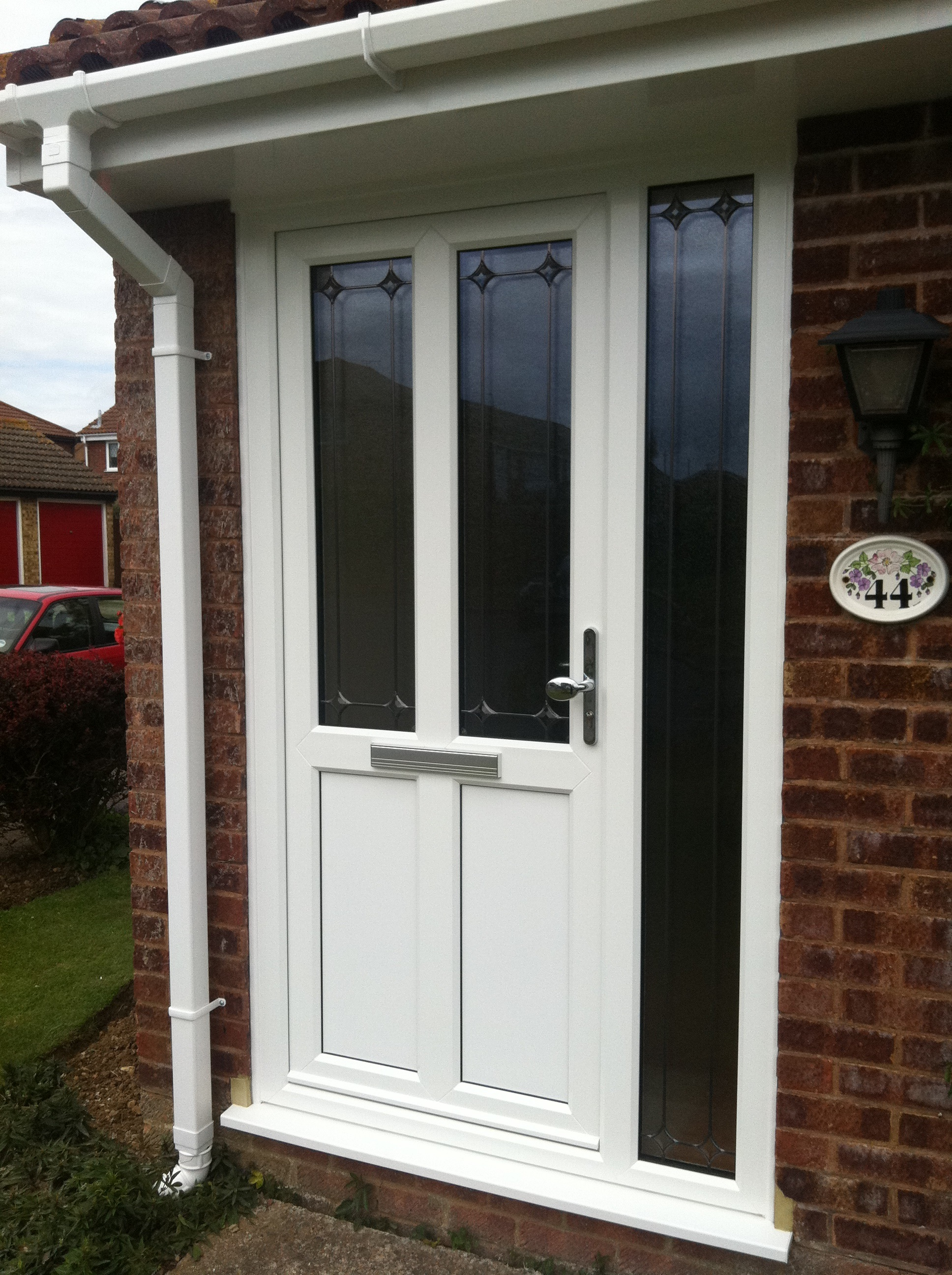 1st class window systems ltd manufactures of high for Installing upvc french doors